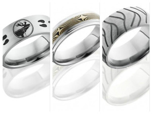 Lashbrook Designs Titanium Rings